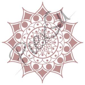 PiexSu-Plotterdatei-Blumenmandala-Vorschaubild