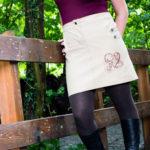 Jeansrock Jessy – Denn Röcke im Herbst sind mir die Liebsten
