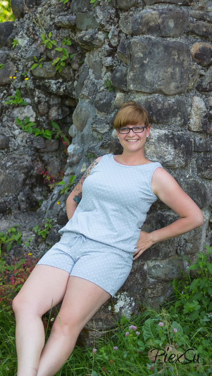 PiexSu Jumpsuit Siglir nähen Schnittmuster Summer Basics_7