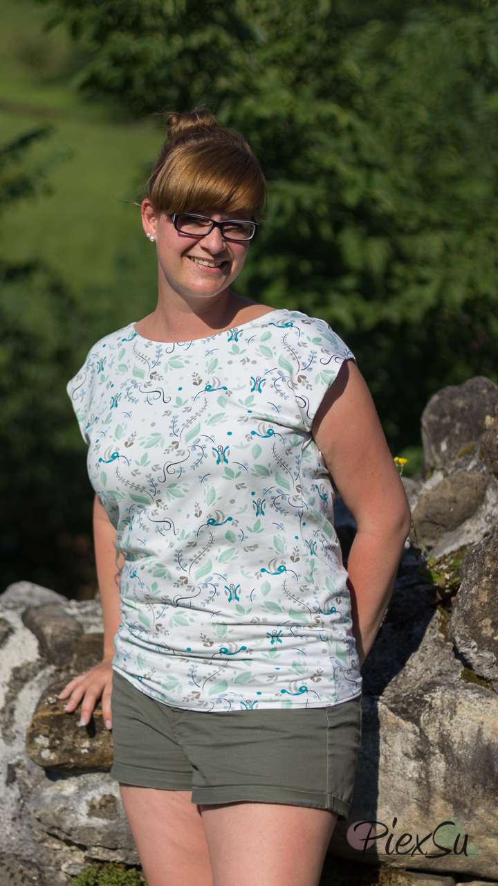 PiexSu Wasserfall Shirt Levezia nähen Schnittmuster Summer Basics_5