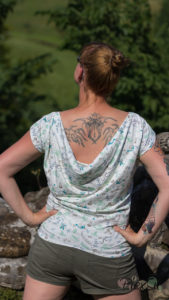 PiexSu Wasserfall Shirt Levezia nähen Schnittmuster Summer Basics_10