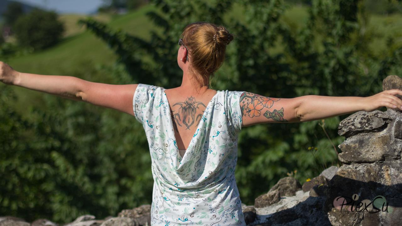 PiexSu Wasserfall Shirt Levezia nähen Schnittmuster Summer Basics_28