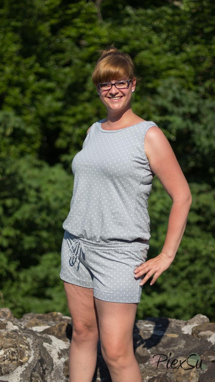 PiexSu Jumpsuit Siglir nähen Schnittmuster Summer Basics_1