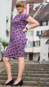 PiexSu Mesa Stad Kleid nähen Falten legen Schnittmuster Lillestoff (4)