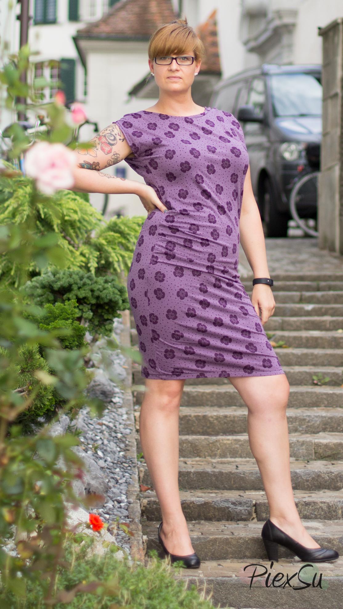PiexSu Mesa Stad Kleid nähen Falten legen Schnittmuster Lillestoff (6)