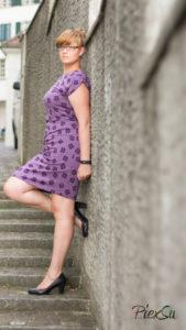 PiexSu Mesa Stad Kleid nähen Falten legen Schnittmuster Lillestoff (8)