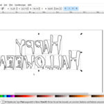 Eigene Plotterdatei erstellen – Ein Schriftzug in Inkscape