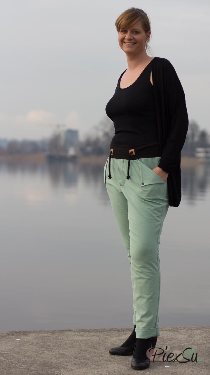 PiexSu Schnittmuster ebook Jogginghose Fashionjogger nähen ...