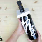 Plotten mit Papier – Weinflaschenanhänger selbst erstellen