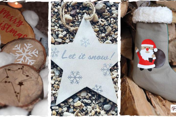Plotterdatei Set Merry Christmas