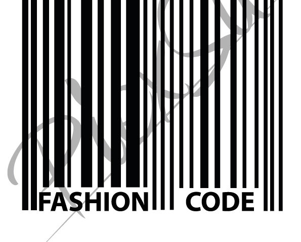 Plotterdatei Fashion Code