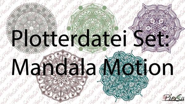 Plotterdatei Set Mandala Motion