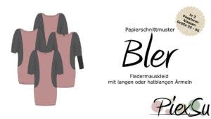 Papierschnittmuster PiexSu Bler