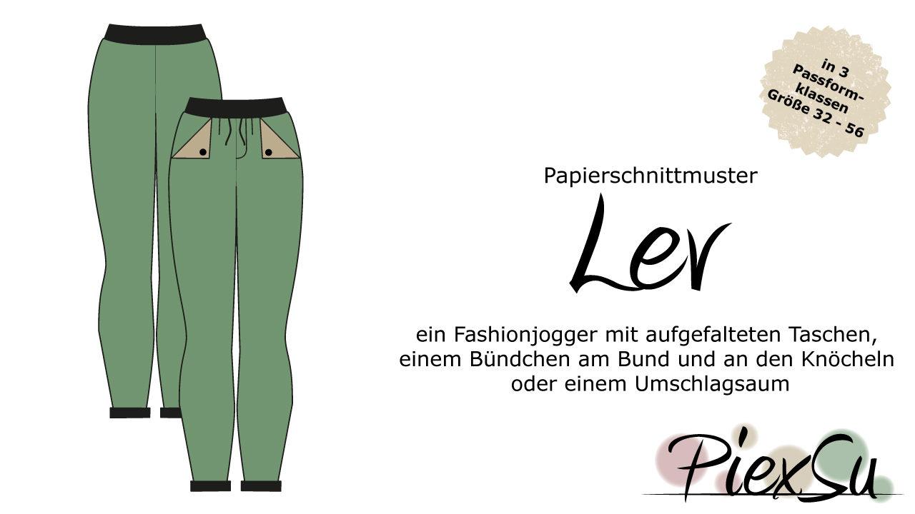 Papierschnittmuster PiexSu Lev (Woman)