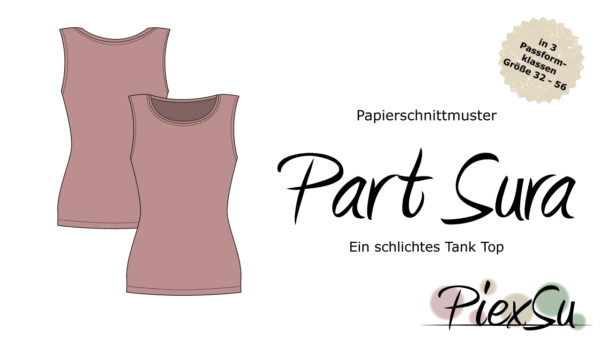 Papierschnittmuster PiexSu Part Sura