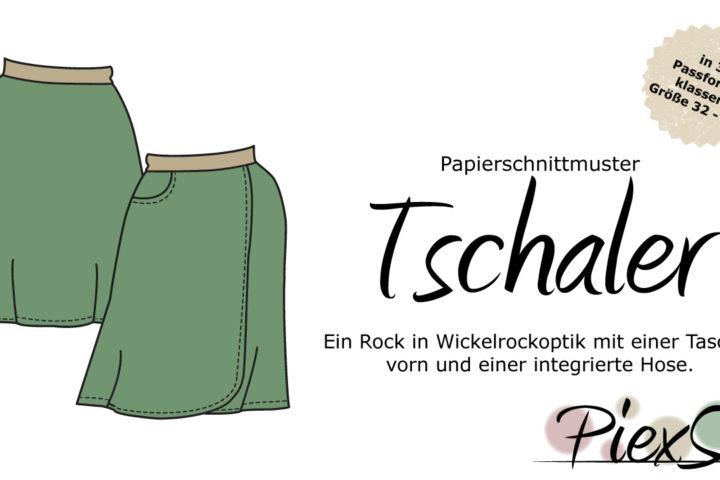 Papierschnittmuster PiexSu Tschaler