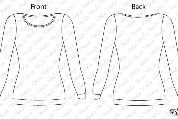 eBook Schnittmuster T-Shirt Tessa