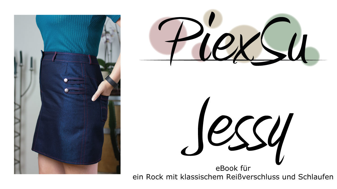 eBook Schnittmuster Jeansrock Jessy
