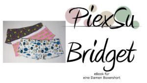 eBook Schnittmuster PiexSu Bridget