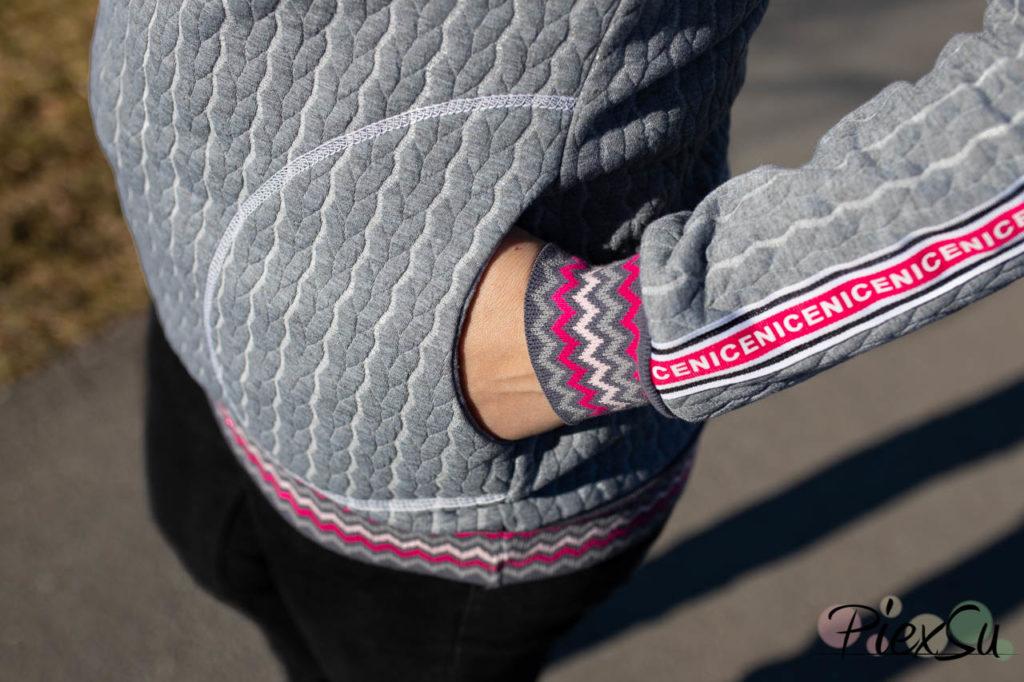 PiexSu Modest Pulli Pullover Raglanpulli Raglanärmel Schnittmuster nähen Sweatstoff Sweatshirt Nähanleitung -7609