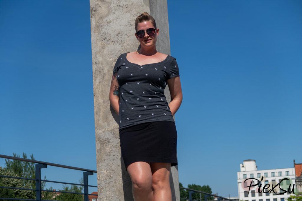 PiexSu Sunny Herzausschnitt ebook Schnittmuster nähen Shirt -5893